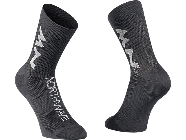 Northwave Extreme Air Mid-Cut Socken black/gray